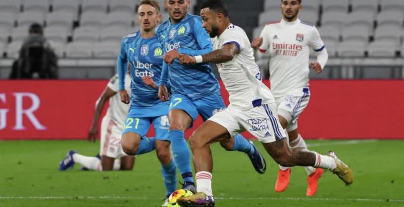 Ліон і Марсель зіграли внічию в матчі Ліги 1