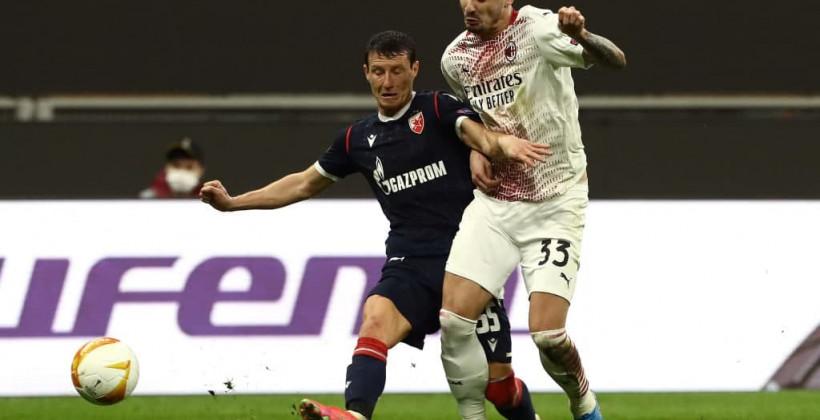 Милан сыграл с Црвеной Звездой вничью с нужным счетом и прошел в 1/8 финала ЛЕ