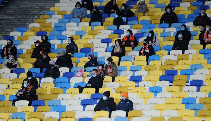 В Киеве ввели строгий карантин и запретили посещать спортивные мероприятия