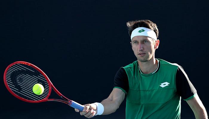Стаховский и Молчанов вышли в полуфинал парного турнира в Бьелле