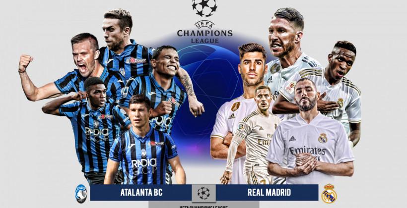 Аталанта Реал Мадрид онлайн трансляция