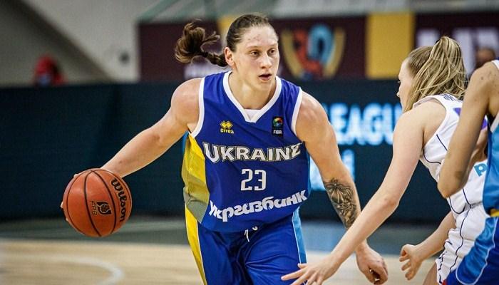 Баскетболістка Ягупова нагороджена орденом княгині Ольги III ступеня