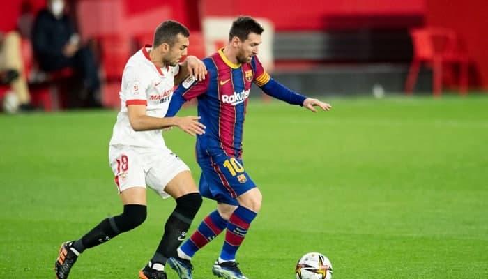 Севилья - Барселона где смотреть в прямом эфире видеотрансляцию матча