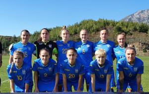 Жіноча збірна України програла Північній Ірландії в першому стиковому матчі за вихід на Євро-2022