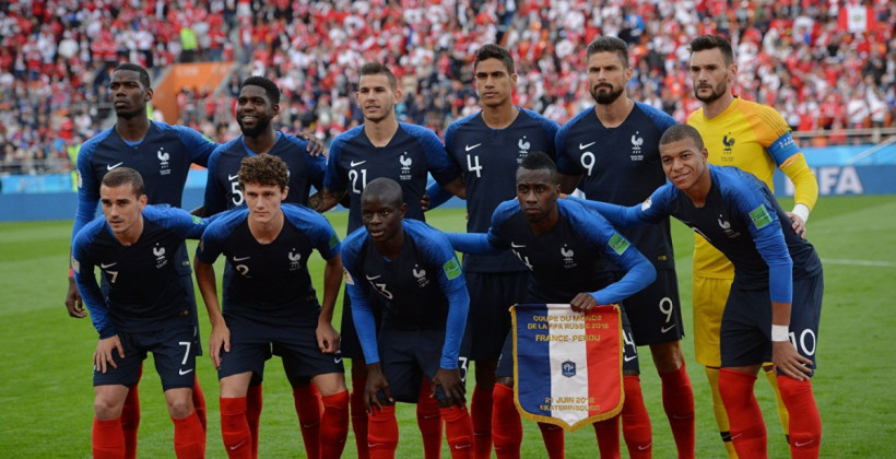 Франція оголосила склад на матч проти України в кваліфікації на ЧС-2022