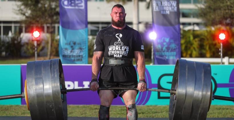 Украинец Новиков победил на турнире World's Ultimate Strongman