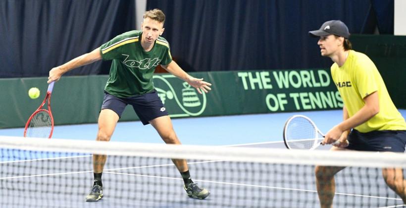 Стаховский и Молчанов вышли в финал парного турнира в Бьелле вторую неделю подряд