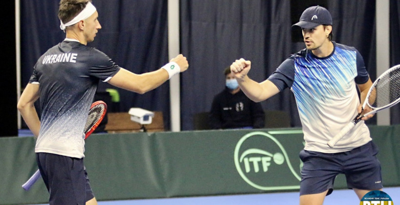 Стаховський і Молчанов програли в фіналі парного турніру в Лугано