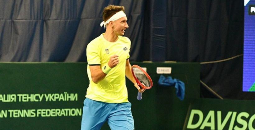 Стаховский вышел в полуфинал парного турнира в Остраве