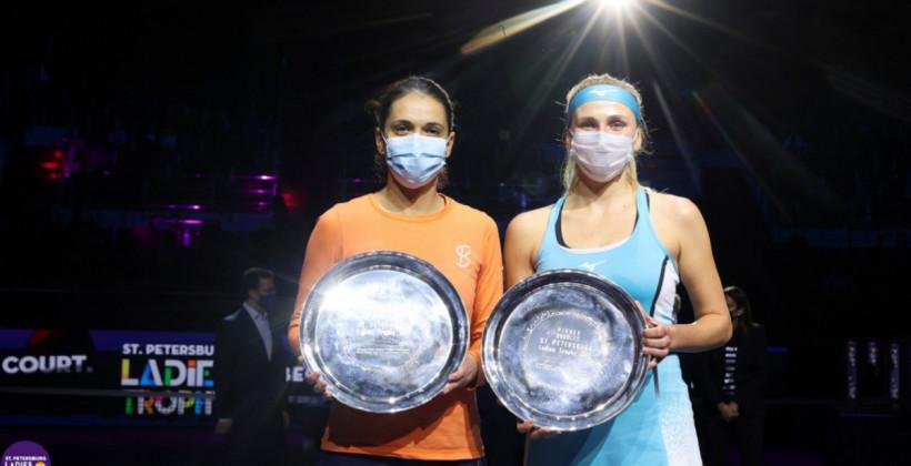 Надежда Киченок: В конце пытались играть каждый мяч и показать свой теннис
