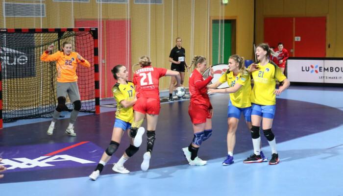 Женская сборная Украины проиграла Словакии в первом матче отбора на ЧМ-2021 по гандболу