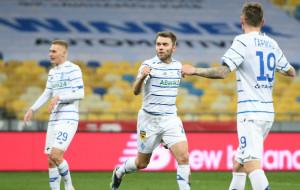 Динамо обіграло Дніпро-1 і зберегло відрив над Шахтарем у сім очок