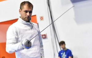 Рейзлин вышел в четвертьфинал турнира в мужской шпаге, Никишин и Свичкарь вылетели