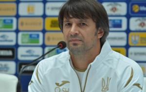 Шовковский: Уверен, что работа нашего тренерского штаба станет фундаментом для еще более успешного выступления сборной Украины