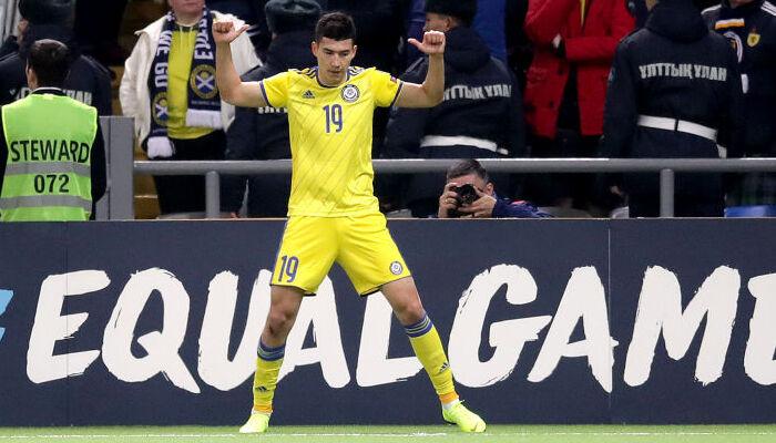 Півзахисник збірної Казахстану Зайнутдінов не зіграє проти України через травму