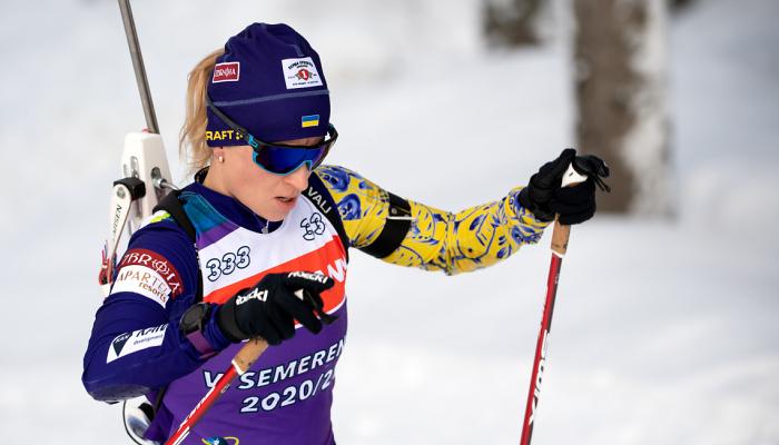 Вита Семеренко стала чемпионкой Украины в спринте