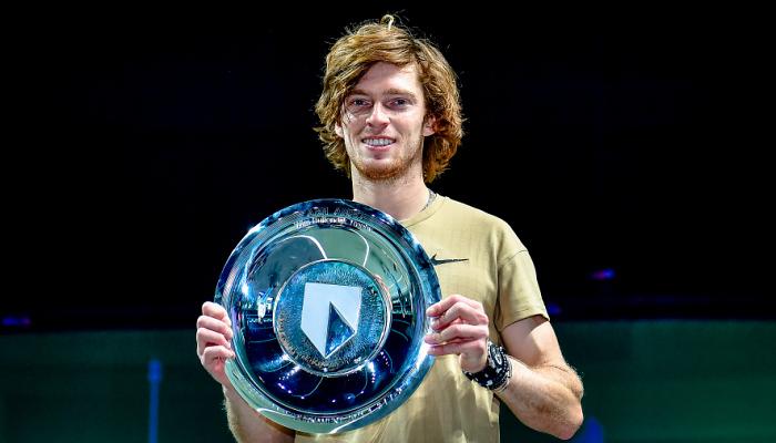 Рублев стал победителем турнира ATP в Роттердаме