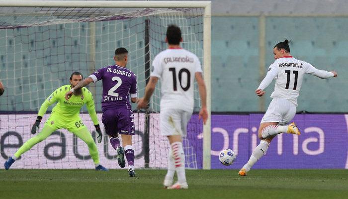 Милан перестрелял Фиорентину и сократил отставание от Интера