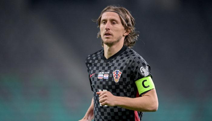 Модрич повторил рекорд Срны по матчам за сборную Хорватии