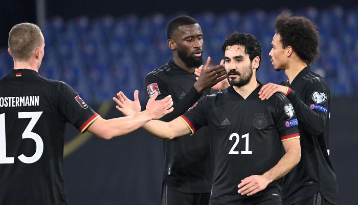 Германия обновила личный рекорд по числу побед подряд в отборе на чемпионат мира