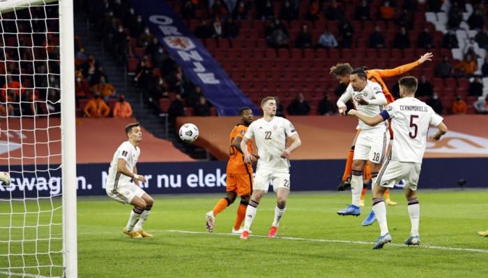 Нидерланды дома победили Латвию в отборе на ЧМ-2022