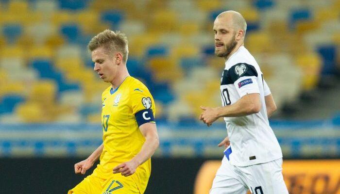 Финляндия – Украина когда и где смотреть трансляцию матча отбора ЧМ-2022