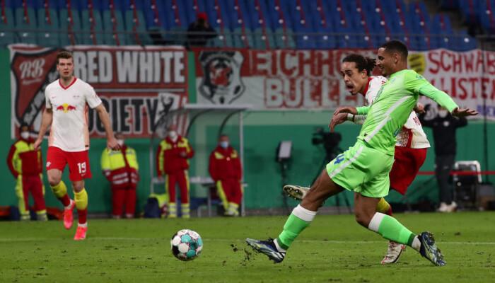 РБ Лейпциг переміг Вольфсбург в 1/4 фіналу Кубка Німеччини