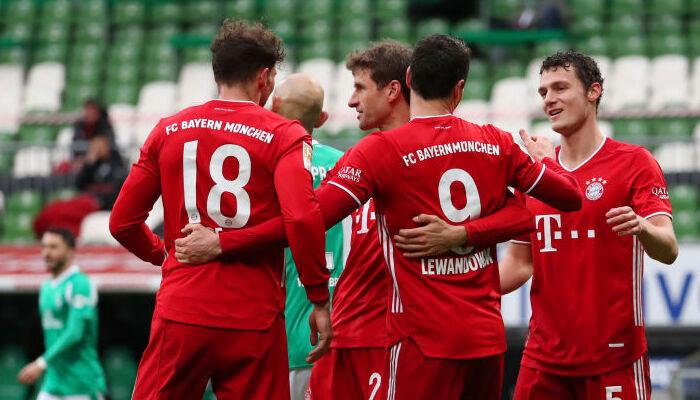 Бавария на выезде уверенно победила Вердер