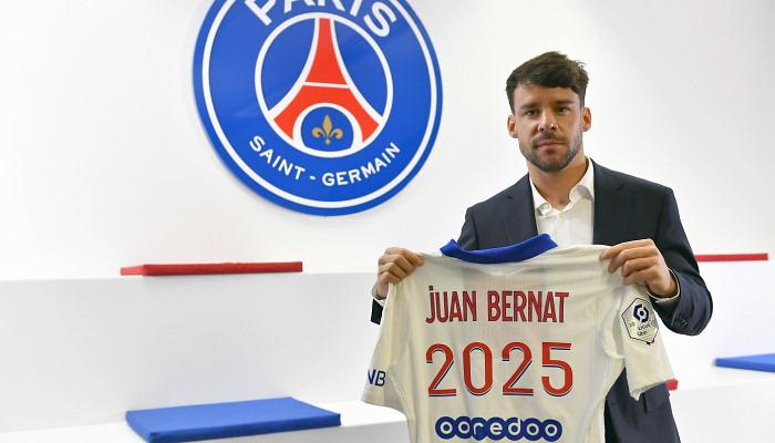 ПСЖ продлил контракт с Бернатом до 2025 года