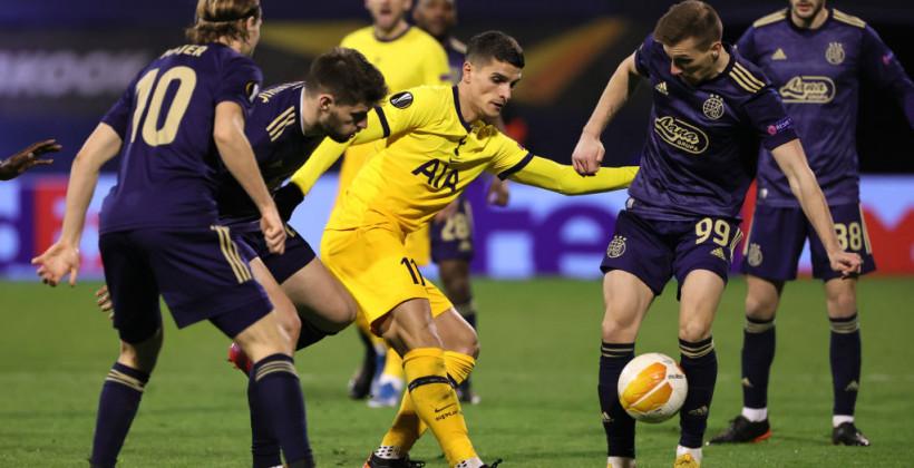 Загребське Динамо зробило камбек у протистоянні з Тоттенхемом і вийшло в 1/4 фіналу Ліги Європи