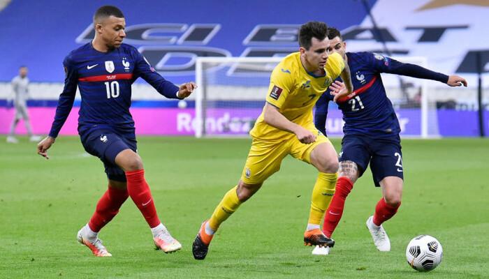 Україна на виїзді зіграла внічию з Францією у відборі на ЧС-2022