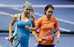 Надія Кіченок та румунка Олару поступилися у першому колі парного турніру в Римі