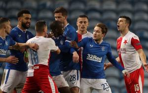 УЄФА відсторонив захисника Славії Куделу на 10 матчів за расизм