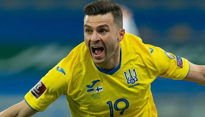 Мораес стал самым старшим автором дебютного гола за сборную Украины