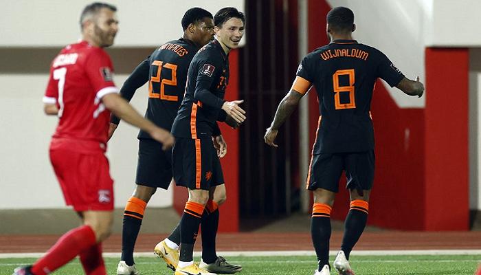 Нидерланды - Грузия где смотреть трансляцию матча