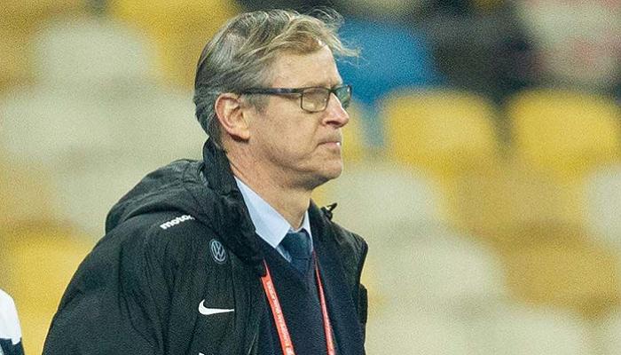 """Тренер Фінляндії Канерва: """"Я задоволений тим, що нам вдалося взяти одне очко"""""""