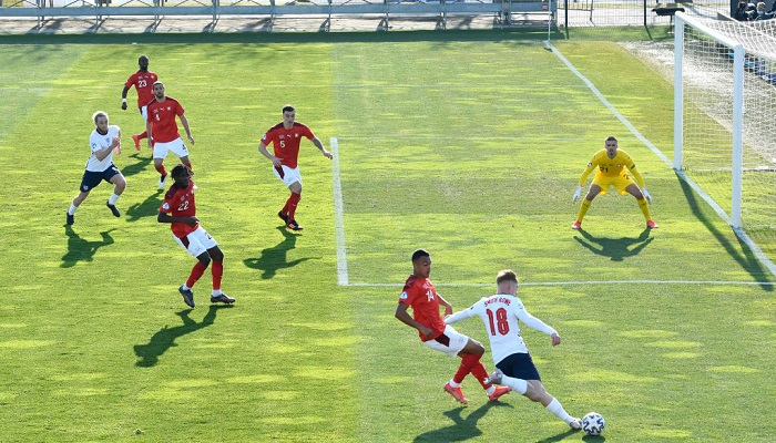 Англия Швейцария U-21