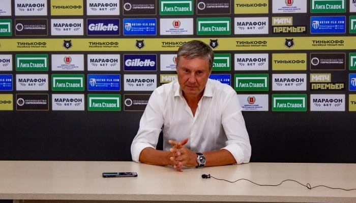 Хацкевич звільнений з поста головного тренера Ротора