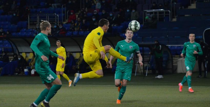 Харьковчане добыли три очка в игре с дебютантом лиги
