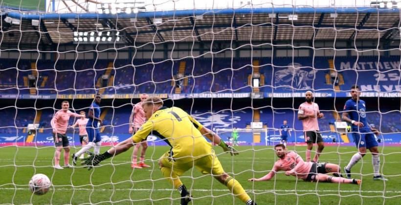 Челси обыграл Шеффилд и вышел в полуфинал Кубка Англии
