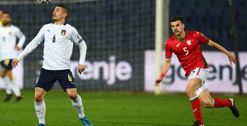 Італія впевнено обіграла Болгарію в відбірковому матчі чемпіонату світу