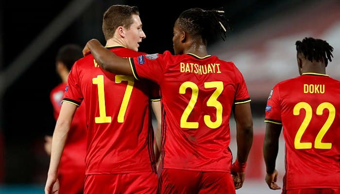 Бельгия уничтожила Беларусь в отборочном матче на чемпионат мира