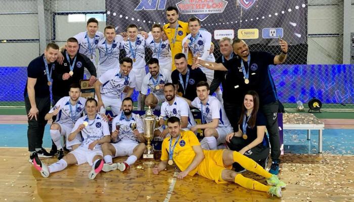 Продексім вперше в історії виграв Кубок України з футзалу