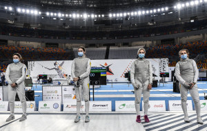 Юниорская сборная Украины по фехтованию завоевала бронзовые медали чемпионата мира