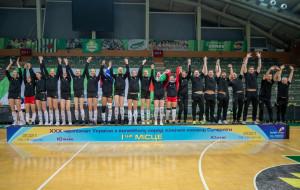 СК Прометей выиграл женский чемпионат Украины-2020/21 по волейболу