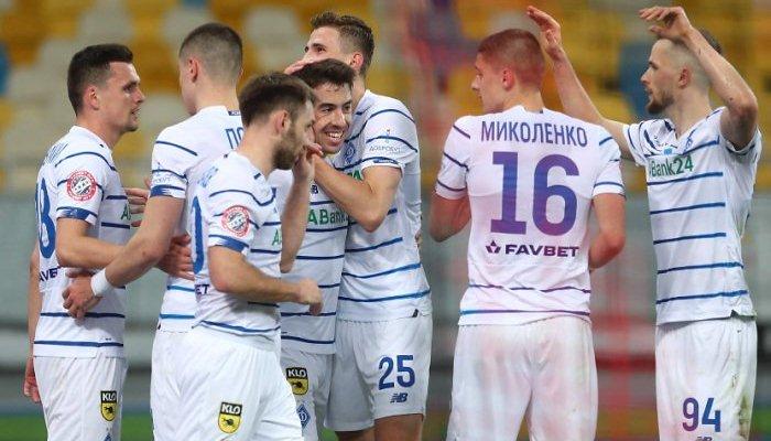 Миколенко, Андриевский, Цыганков, Родригес и Сидорчук претендуют на звание лучшего игрока Динамо в апреле