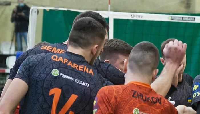 Барком-Кажаны стали трехкратными чемпионами Украины по волейболу
