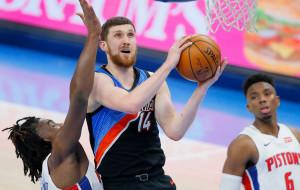 Михайлюк стал пятым украинцем, набравшим 1000 очков в НБА