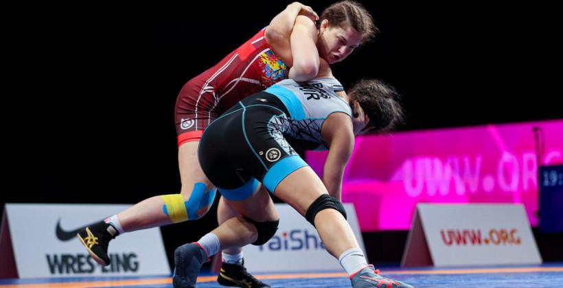 Бережная и Демко завоевали бронзовые медали чемпионата Европы по борьбе