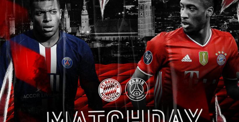 Бавария - ПСЖ где смотреть онлайн трансляцию матча